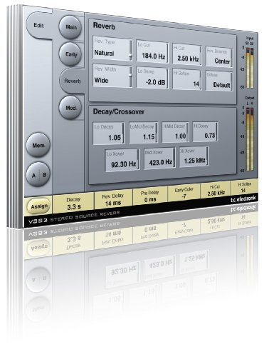 Tc Electronic Vss3 Stereo Room Simulation Algorithm From System 6000 For Pro Tools