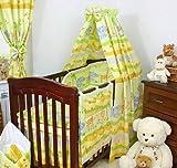 Baumwolle-himmel-fr-Baby-WiegeKinderbett-Bett-Metall-Klemme-Halterung