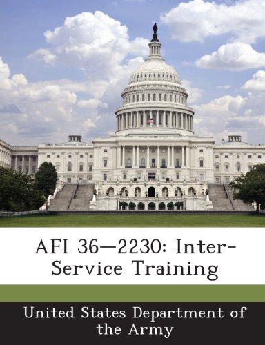 AFI 36-2230: Inter-Service Training PDF