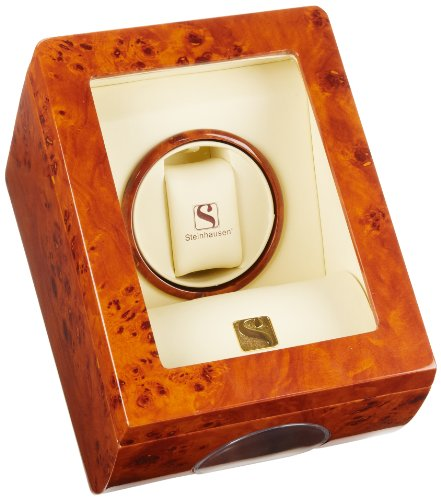 Steinhausen SM478L Single Black Watch Winder