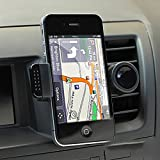 TBS®2063 Universal Air Vent Car Mount Holder for Cell Phone Iphone4/5 Samsung Galaxy S3 S4 S5 Samsung Note2/3 (black)