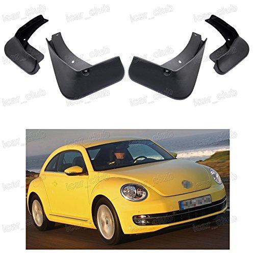 4Pcs Car Mud Flaps Splash Guard Fender Mudguard for Volkswagen Beetle 2012-2016 (New Beetle Mud Flaps compare prices)