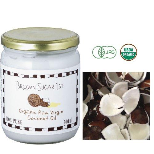 ブラウンシュガーファースト organic coconut oil 462 g
