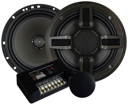 Mbquart Pvl216 6.5-Inch 2-Way Component/Convertible Coaxial