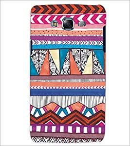 PrintDhaba Tribal Pattern D-5437 Back Case Cover for SAMSUNG GALAXY J7 (Multi-Coloured)