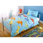New Dinosaurs Duvet/Quilt Cover Set -...