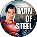 "Superman - Man of Steel - Superman Pinback Button 1.25"" BAE-1"