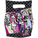 Monster High Birthday Party Loot Bags x 6