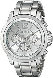 XOXO Women's XO5588 Silver-Tone Bracelet Watch