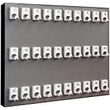 Key Stand, Key Rack for Real Estate Offices & Rentals (Car-Housing-Machinary) w/30 NEW Numbered Hooks