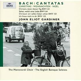 """J.S. Bach: Cantata """"Christum wir sollen loben schon"""", BWV 121 - Recitativo: Der Gnade unermesslich's Wesen (Alto)"""