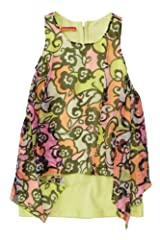 Kate Mack Girl's 2-6X Feelin' Groovy Dress in Multi