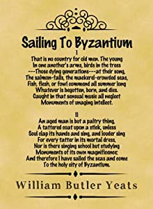 Byzantium by William Butler Yeats: Summary and Poem