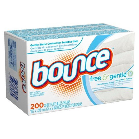 Bounce Free Amp Gentle Dryer Sheets 200 Count Home Garden