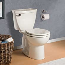 American Standard 4021.800.020 Cadet-3 Complete Toilet Tank with Trip Lever On Right-Hand Side, White (Tank Only)