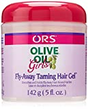 Organic Root Stimulator Olive Oil Girls Fly Away Taming Hair Gel, 5 Ounce