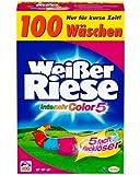 Weißer Riese Color Pulver, 1er Pack (1 x 100 Waschladungen)
