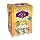 Yogi Cold Season Tea, 16 Tea Bags (Pack of 6) ~ YOGI
