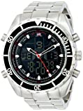 U.S. Polo Assn. Sport Mens US8211 Analog-Digital Display Analog Quartz Silver Watch