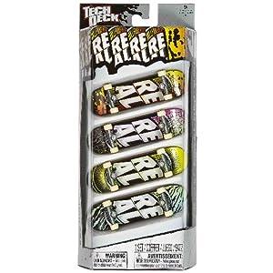 Roll Forever Real: Tech Deck 4-Finger Skateboard Pack