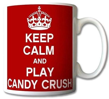 Keep-Calm-And-Play-Candy-Crush-Mug-Cup-Gift-Retro