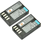 DSTE® 2x D-Li109 Replacement Li-ion Battery for Pentax K-R K-30 K-50 K-500 KR K30 K50 K500 Camera