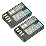DSTE 2x D-LI109 LI109 Rechargeable Li-ion Battery for Pentax K-R KR K2 K-2 K-30 K30