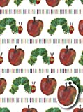 Hungry Caterpillar Wrapping Paper Pack Wrap Set 2 X Sheets Gift Wrap & 2 X Tags