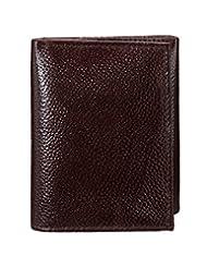 Yepme Men's Leather Wallet - Brown - B0156J7ZCA