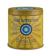 Blue Lotus Golden Masala Chai - 3oz Tin (100 cups)