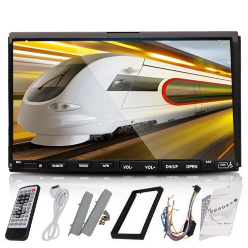 ouku 7 inch tft touch screen double 2 din in dash car dvd stereo ouku 7 inch tft touch screen double 2 din in dash car dvd stereo dvd player built in am fm rds steering wheel control sd usb general general