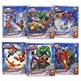 Marvel Heroes Puzzle (puzzles may vary)