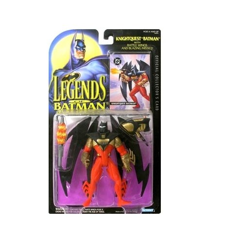 Legends of Batman Knightquest Batman Action Figure - 1