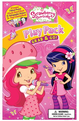 Strawberry Shortcake Grab and Go Play Pack - 1