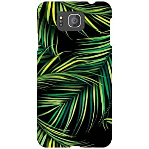 Samsung Galaxy Alpha G850 Back Cover - Zig Zag Designer Cases