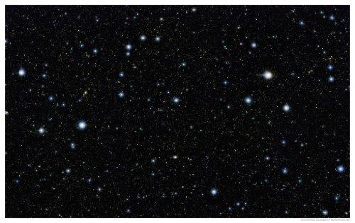 """Astronomy Poster - Eso - Eso1213A - Vista Stares Deep Into The Cosmos - 37""""X24"""""""