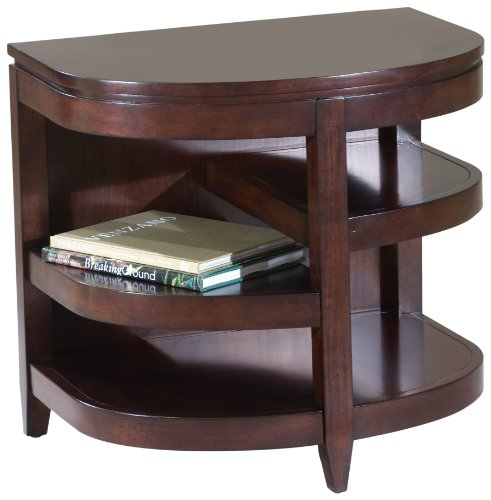 Image of Magnussen Brunswick Wood Demilune End Table (T1096-06)