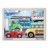 Melissa & Doug 12 Piece ON THE GO Wooden Jigsaw Puzzle