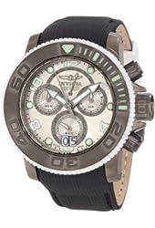 Invicta Men's 10722 Sea Hunter Chronograph Silver Grey Dial Watch