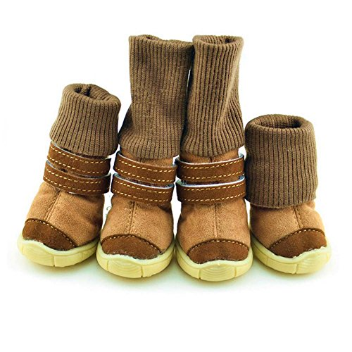 4-Pcs-Pet-Puppy-Dog-Winter-Snow-Warm-Walking-Boots-Foldable-Small-Dog-Knee-Shoes