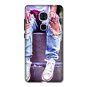 OVERSHADOW DESIGNER PRINTED BACK CASE COVER FOR LeEco LEMAX2