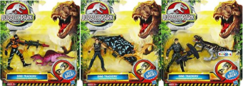 Jurassic Park Dino Trackers Playsets Action Figures + Jp Dinosaurs Set Of 3 New