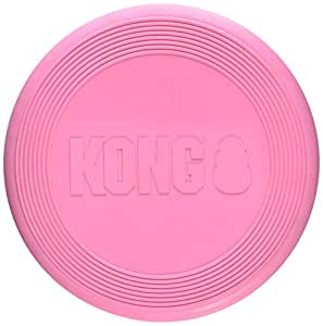KONG Puppy Flyer Dog Toy, Colors May Vary