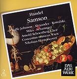 Handel: Samson Nikolaus Harnoncourt; Arnold Schoenberg Choir; Concentus musicus Wien