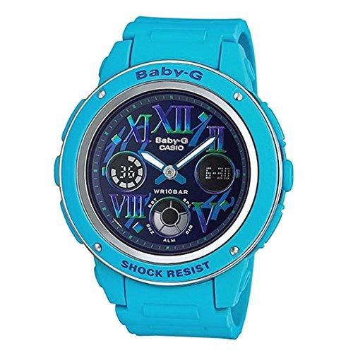 Casio Ladies Baby-G Analog-Digital Casual Quartz Watch (Asia Model) BGA-150GR-2B