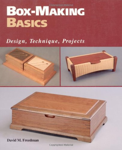 Box-Making Basics: Design, Technique, Projects front-683471