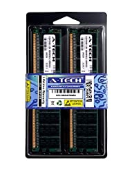 4GB Kit 2x 2GB ECC Registered DDR2 PC2-3200 400Mhz Hewlett Packard Compaq HP Proliant DL360 G4p DL380 G4 DL580 G3 G4 ML350 G4p ML370 G4 ML570 G3 G4 Workstation xw6200 xw8200 1.8V 240 Pin Ram Memory