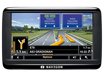 "Navigon 40 Easy GPS Europe (23 Pays) Ecran 4,3"" TMC"