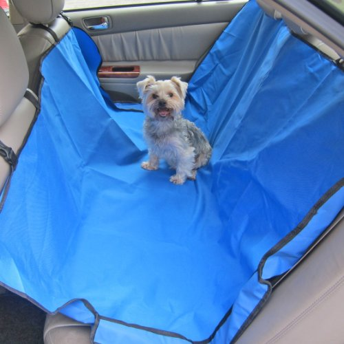 Alfie Lifestyle Javis Pet Backseat Hammock - Color: Blue front-1065698