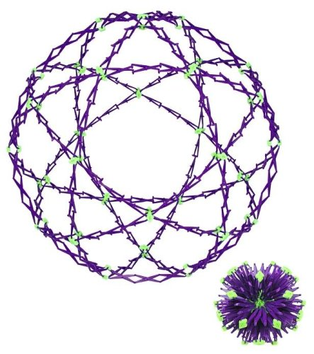 glow in the dark expanding sphere toy
